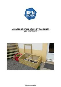 BenMaker - Plan Mini Serre - 1