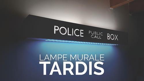 lampe murale tardis