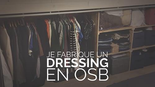 Un dressing en osb