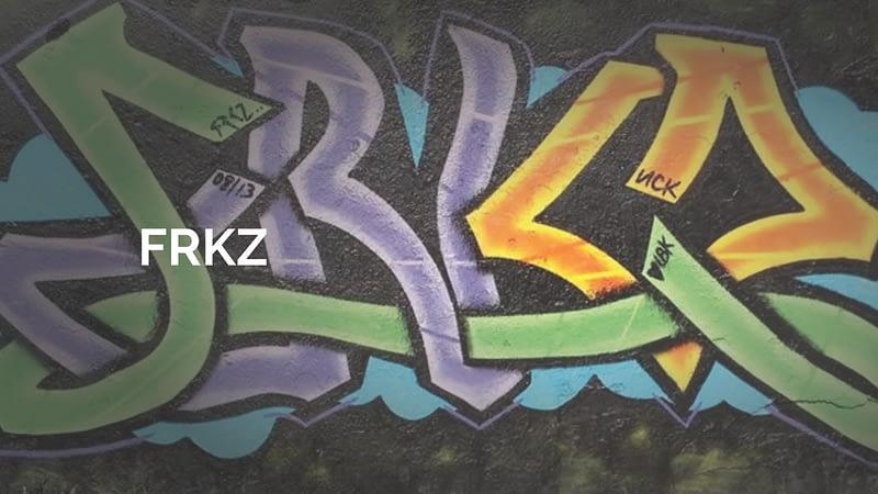 Frkz graffiti