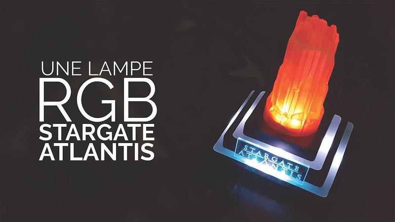 Une lampe RGB Stargate Atlantis